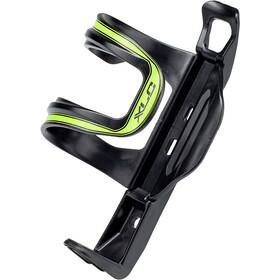 XLC Sidecage Koszyk na bidon, czarny/zielony
